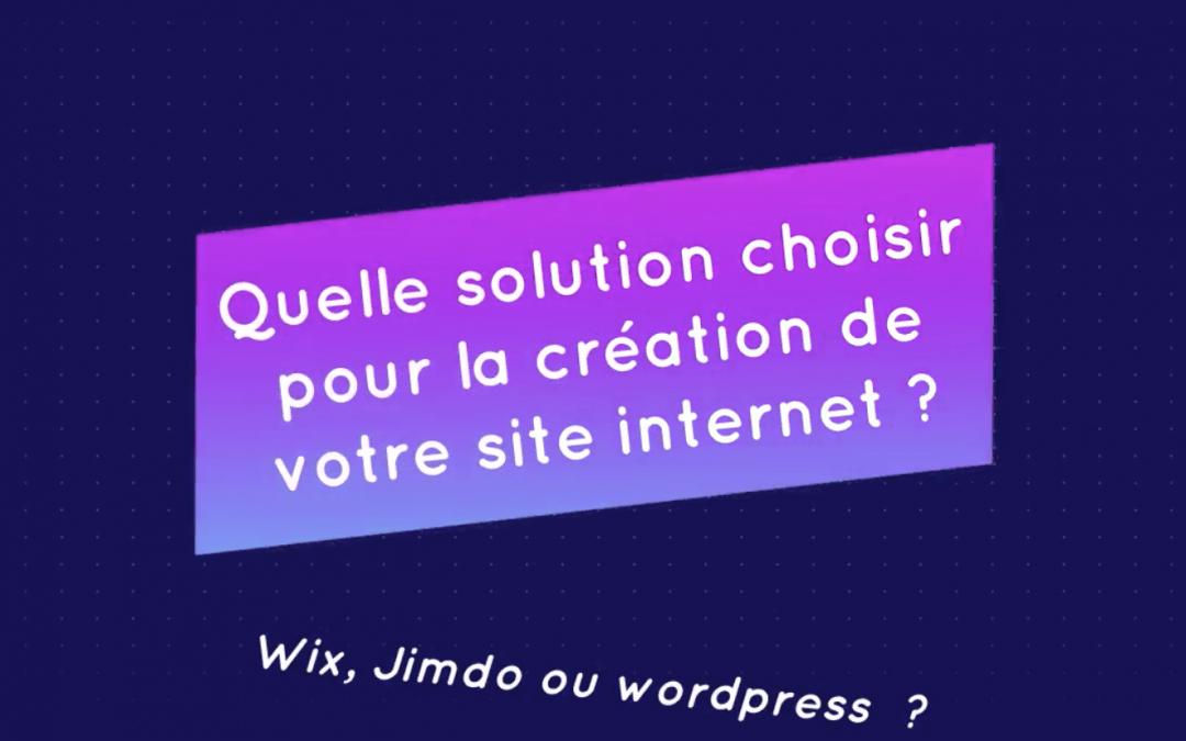 Pourquoi je vous déconseille de choisir Wix pour votre site Internet