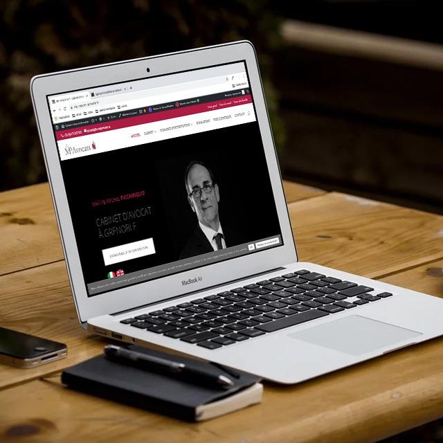Refonte de Site Internet – MP Avocats