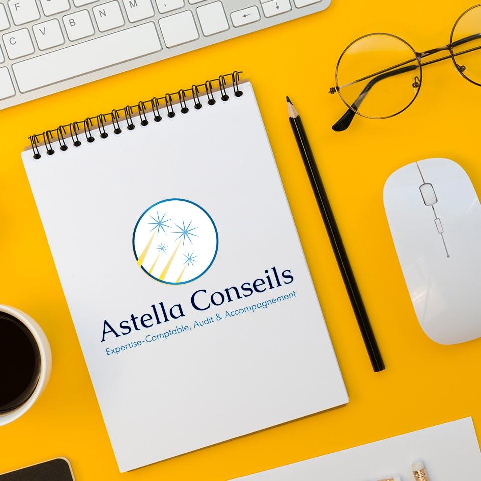 Identité visuelle – Astella Conseils