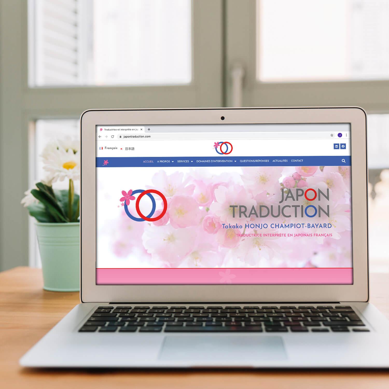 Création site internet Japon Traduction