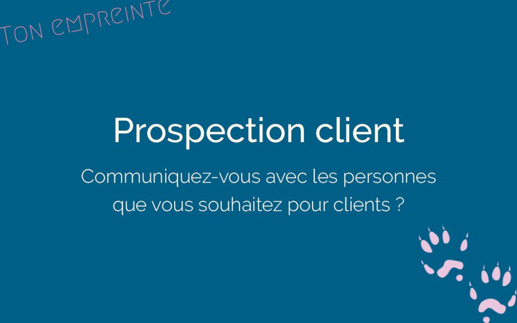prospection client