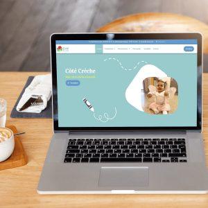 Refonte du Site Internet – Côté Crèche