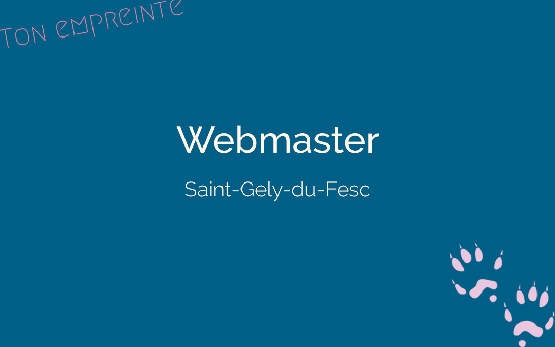 Juliane de Ton empreinte - Webmaster à Saint-Gely-du-Fesc